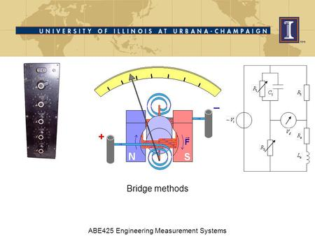 Bridge methods ABE425 Engineering Measurement Systems.