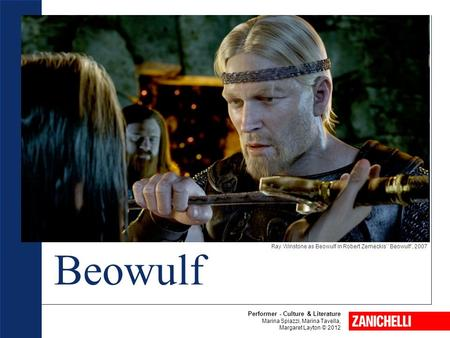 Ray Winstone as Beowulf in Robert Zemeckis'' Beowulf', 2007 Beowulf Performer - Culture & Literature Marina Spiazzi, Marina Tavella, Margaret Layton ©