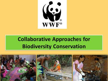 Collaborative Approaches for Biodiversity Conservation.