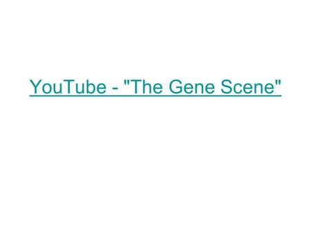 YouTube - The Gene Scene. The Structure of RNA There are three main differences between RNA and DNA. 1. The sugar in RNA is ribose instead of deoxyribose.