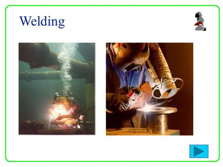 Welding Parts are joined together by Fusion. Fusion is brought about by a combination of heat and pressure between parts being joined. In normal welding.