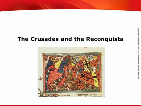 TEKS 8C: Calculate percent composition and empirical and molecular formulas. The Crusades and the Reconquista.