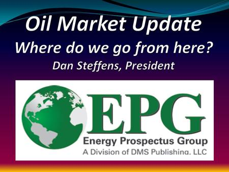 U.S. Oil & Gas Industry Development of both oil and natural gas reserves in the United States is essential to meet future demand for energy The United.