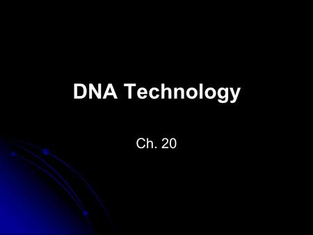 "DNA Technology Ch. 20. The Human Genome The human genome has over 3 billion base pairs 97% does not code for proteins Called ""Junk DNA"" or ""Noncoding."
