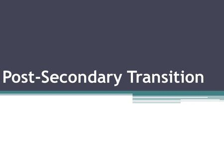 "Post-Secondary Transition. Kentucky Transition Indicator 13 ""Sub-Indicators"" 49a Postsecondary Goals 49b Transition Services 49c Agency Involvement 49d."