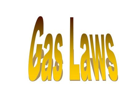 Properties  Gases take the shape and volume of their container  Weak intermolecular forces  Volume is dependent on temperature and pressure Increase.