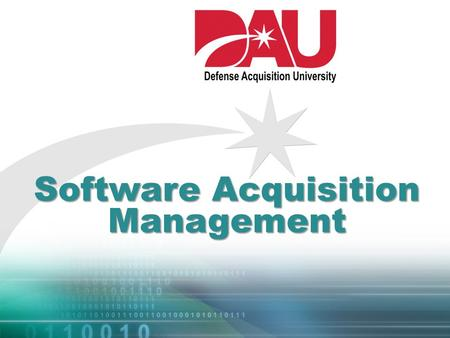 Software Acquisition Management. Cloud Computing 2.
