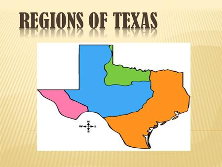 Sub-Regions High Plains Edwards Plateau Llano Basin (Hill Country) Cities in this region include Austin, San Angelo, Midland, Odessa, Lubbock, and Amarillo.