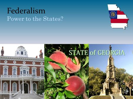 Federalism Power to the States?. Number of U.S. Governments.