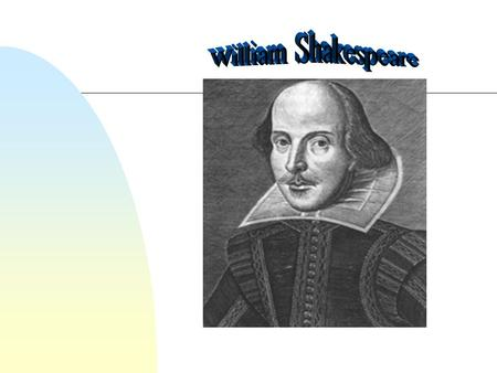 Shakespeare's Life 1564-1616 The man behind the legend.