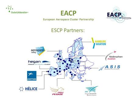 EACP European Aerospace Cluster Partnership ESCP Partners: