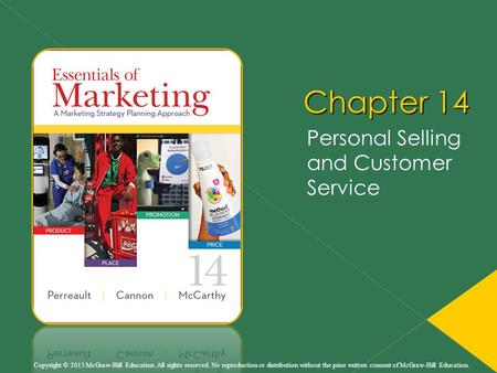 Personal Selling and Customer Service