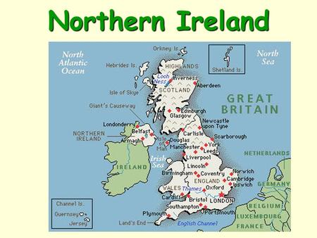 Northern Ireland. Capital: Belfast Population: 1,810,863 Language: Irish/English Currency: Euro.