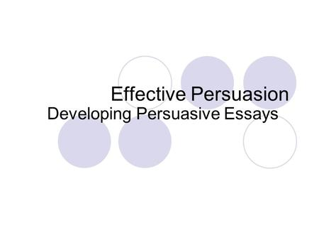 150 Topics to Draft an Effective Persuasive Essay