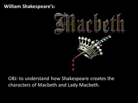 An analysis of gender role confusion in macbeth a play by william shakespeare
