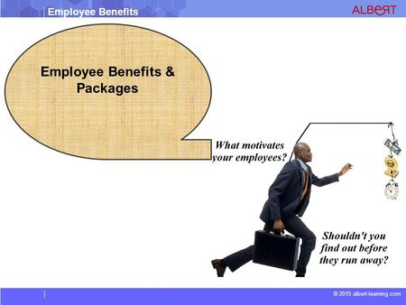 Employee Benefits © 2015 albert-learning.com Employee Benefits & Packages.