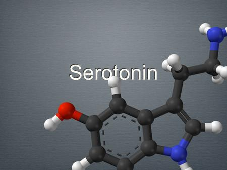 Serotonin. Content What is Serotonin? What is it used for? What's the effect (too much/too little of it)? Factors that may cause Imbalance in serotonin.