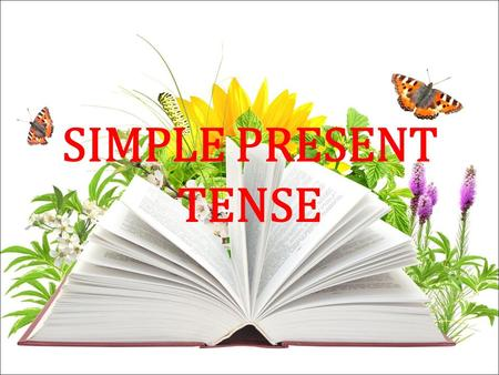 SIMPLE PRESENT TENSE. What is simple present tense? Simple present tense is a verb form that use to express facts, habits, general truths, repeated actions.