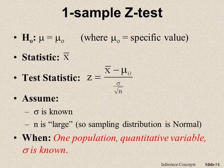 inferences concerning two means When one wants to estimate the difference between two population means from independent samples, then one will use a t-intervalif the sample variances are not very different, one can use.