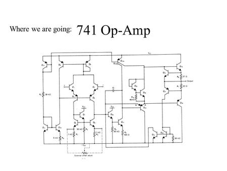 741 Op-Amp Where we are going:. Typical CMOS Amplifier.
