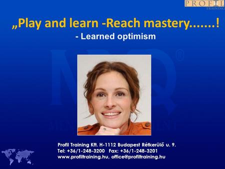 learned optimism Essays - largest database of quality sample essays and research papers on martin seligman learned optimism.