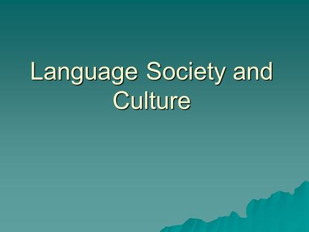 regional and social dialects sociolinguistics pdf