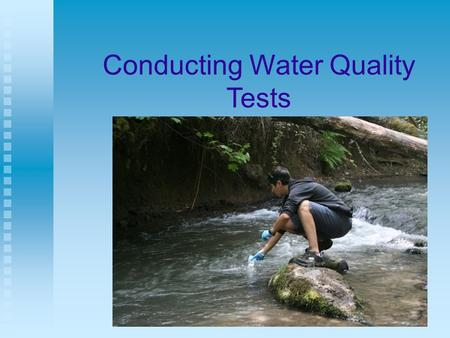 Conducting Water Quality Tests. Next Generation Science / Common Core Standards Addressed! HS ‐ ESS2 ‐ 5. Plan and conduct an investigation of the properties.