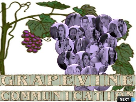 Objective Explain what is Grapevine Communication