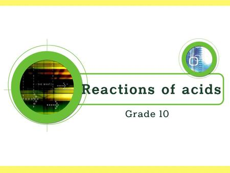 Exploring Reactions Of Acids With Carbonates Ppt Video