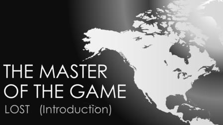 THE MASTER OF THE GAME LOST (Introduction). GAERMONT COMPANY Gaermont is a company dedicated to producción and marketing of souvenirs and balls.