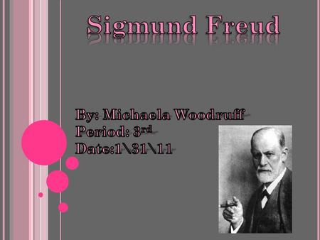 What Sigmund Frued Did For A Living Sigmund Freud worked in association with another Viennese hypnotherapist named Josef Breuer in the preparation and.