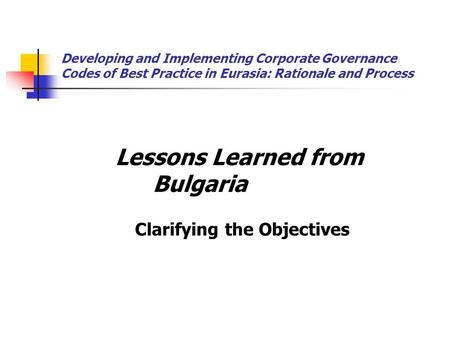 Factors Affecting The Implementation Of Corporate Governance Accounting Essay