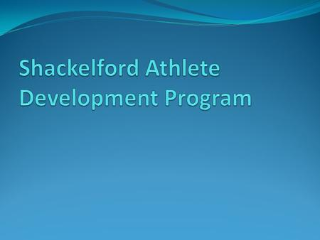 Identification of Program Needs Boys Sports – Football, Basketball, Cross Country, Track Girls Sports – Volleyball, Basketball, Cross Country, Track A.