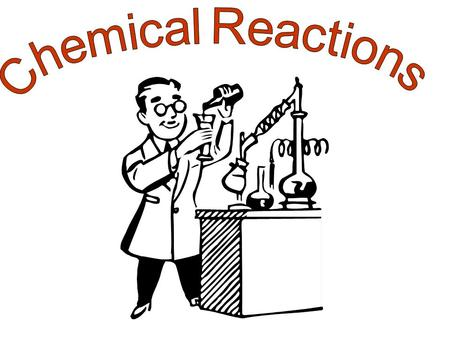 –Chemical reactions occur when bonds between the outermost parts of atoms are formed or broken.