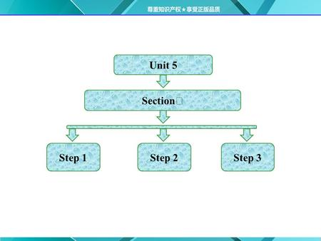 Unit 5 Step 1 Section Ⅰ Step 2Step 3.