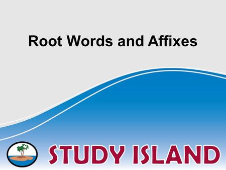 Root Words and Affixes. Root words are the parts of words on which affixes are added. Although the endings can change when adding a suffix, root words.
