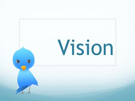 Vision. To prepare young adults for the future of ministry today. Knowledge Experience Lifestyle Mind Soul Spirit.