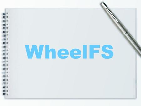 WheelFS. Agenda Introduction Background Feature System Architecture Design and Details Conclusion.