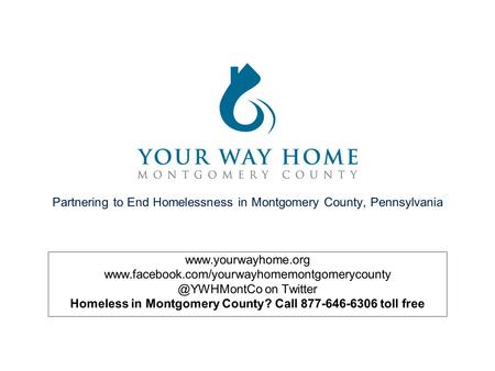 Partnering to End Homelessness in Montgomery County, Pennsylvania  on Twitter.