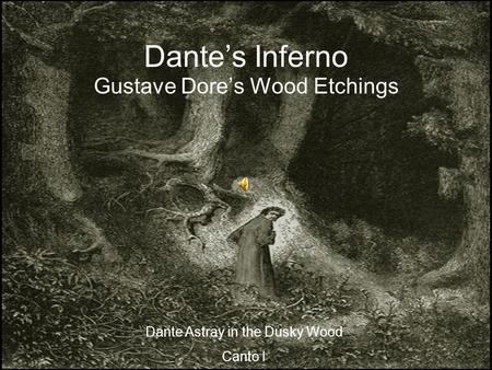 Gustave Dore's Wood Etchings