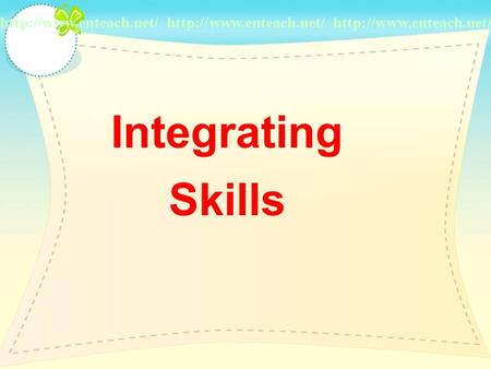 Integrating Skills Pre-reading Task 1. Find out which type of writing it is and what is its characteristic. 2. Put a circle around the relative.