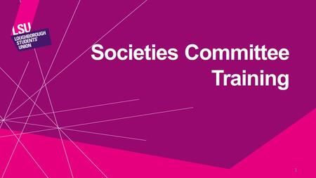 Societies Committee Training 1. Treasurer Training Exceptional Society Treasurer Good Society Treasurer Poor Society Treasurer.