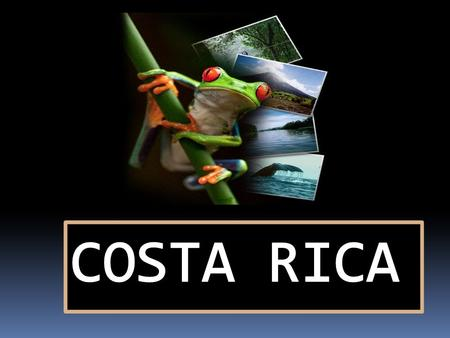 COSTA RICA FACTS.....  Official Name: Republic of Costa Rica Total Area: 51,100 square kilometers Administrative Divisions: 7 Provinces Head of State: