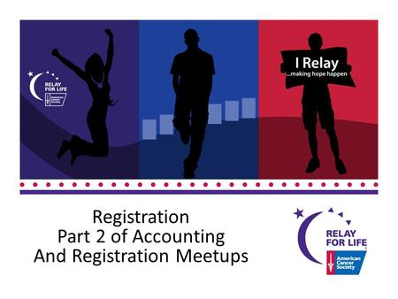 Registration Part 2 of Accounting And Registration Meetups.