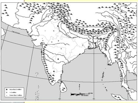 Topic: The Geography of the Indian subcontinent What do you know? South Asia.