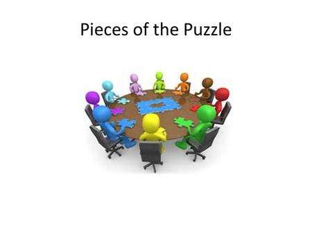 Pieces of the Puzzle. On-boarding The process of integrating new employees into the organization, of preparing them to succeed at their jobs, and to become.