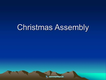 Christmas Assembly. Jesus of Nazareth – d.o.b (unknown) There is not a single month of the year in which Jesus birth has not been celebrated by one group.