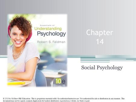 © 2013 by McGraw-Hill Education. This is proprietary material solely for authorized instructor use. Not authorized for sale or distribution in any manner.