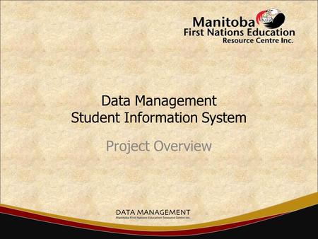 Data Management Student Information System Project Overview.