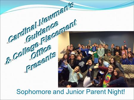 Sophomore and Junior Parent Night!. * Mrs. Karen Lower: Director of Guidance Students A-I & IB students * Ms. Mary Murphy: Counselor Students J-Z * Ana.